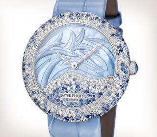 百達翡麗展現頂級鑽石鑲嵌和製錶工藝 Calatrava高級珠寶腕錶散發女性優雅氣質