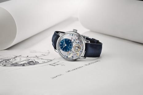 格拉蘇蒂原創議員天文台陀飛輪首次將停秒、歸零及分鐘止動裝置集於一體
