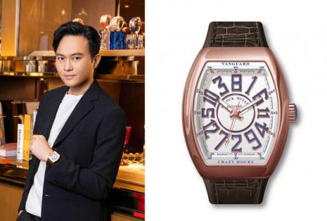 FRANCK MULLER邀品牌大使張智霖站台 展示Vanguard Crazy Hours亞洲特別版