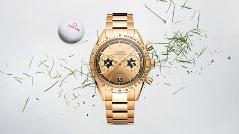 歐米茄推出超霸計時錶特別版向高爾夫球星Rory Mcllroy致敬