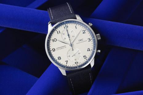 IWC與寶齊萊錶店合作推出全新葡萄牙計時錶寶齊萊藍色特別限量版