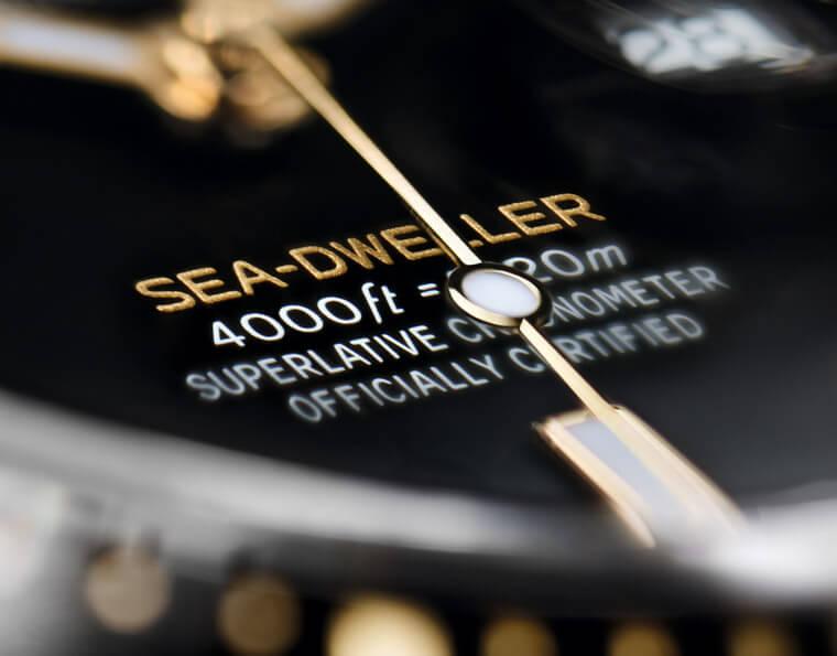 Sea-Dweller海使126603升级半金表壳 防水性能仍超过