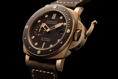 沛納海968青銅錶換上陶瓷圈 更防刮也更耐磨