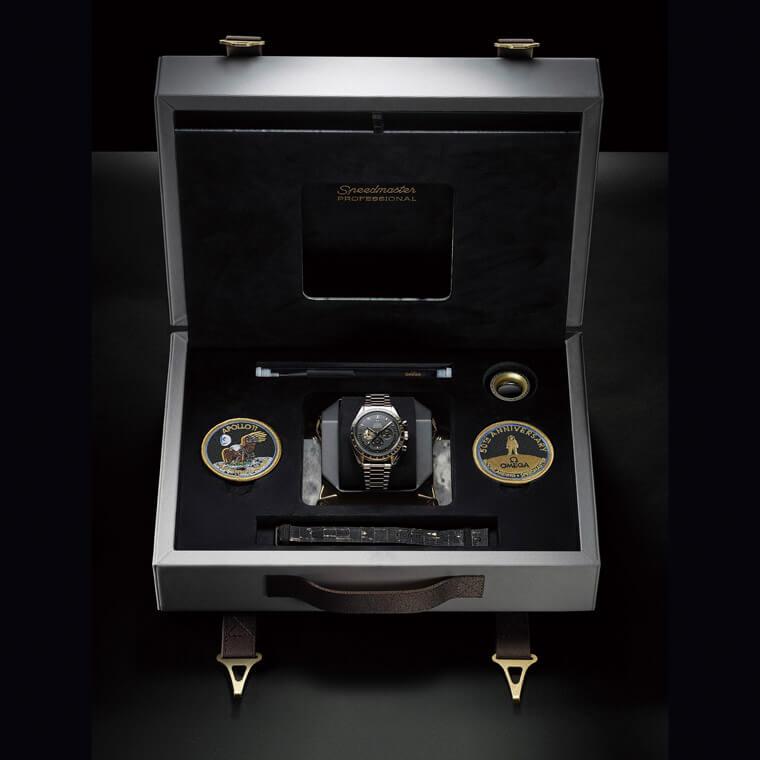 欧米茄超霸登月表结合阿波罗11号主题突显纪念表