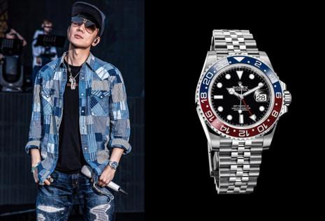 金曲歌王JJ林俊傑不只愛百事圈GMT-Master 其他還有很多稀有限量錶