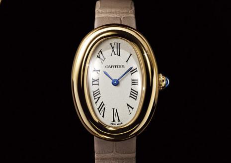 以浴缸為名的卡地亞Baignoire是品牌另一個有百年歷史的經典手錶
