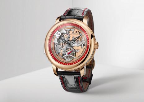 百達翡麗5303R是錶王首次把陀飛輪置於面盤的新嘗試