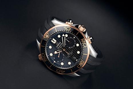 海馬潛水300米防水性能不變 進階計時功能賞玩價值再進階