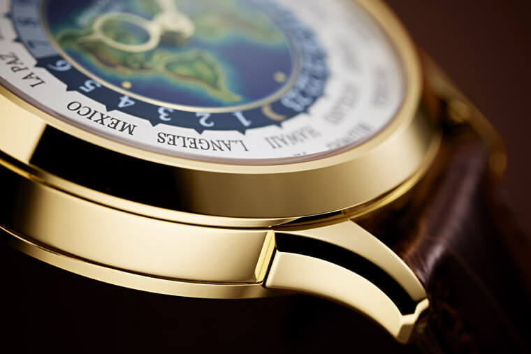 PP最受藏家喜爱的世界时区手表 珐琅地图视觉美