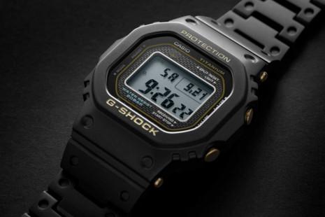 G-SHOCK GMW-B5000系列再推全新升級鈦金屬材質