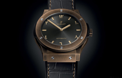 融合中東文化的宇舶青銅錶 經典融合系列青銅逆時針特別限量版