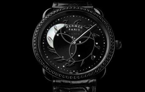 愛馬仕Arceau新錶弦月視窗顯示的不是月相竟然是小時