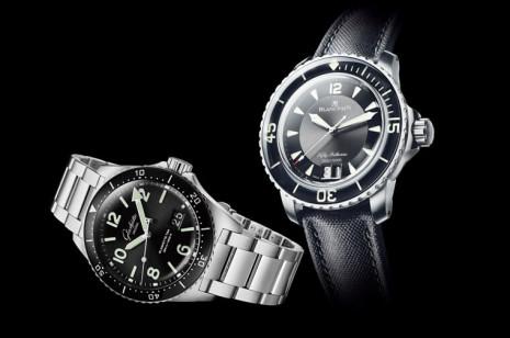 寶珀和格拉蘇蒂原創大日期潛水錶都強調專業與生活實用的平衡