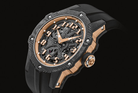 RICHARD MILLE超薄圓錶接班作 RM 33-02高科技材質展現強烈運動風
