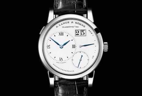 不鏽鋼錶殼古董Lange 1拍出比當年價格還高20倍以上的驚人身價