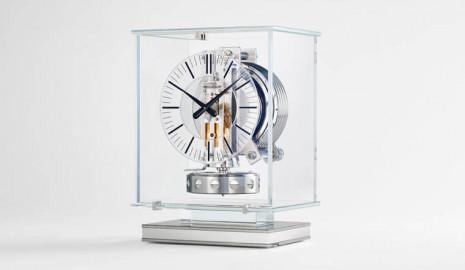 積家推出新款Atmos Transparente空氣鐘 利用溫度變化自己上鍊好方便