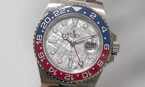 除了勞力士126719BLRO,盤點這兩年內出過的隕石面手錶