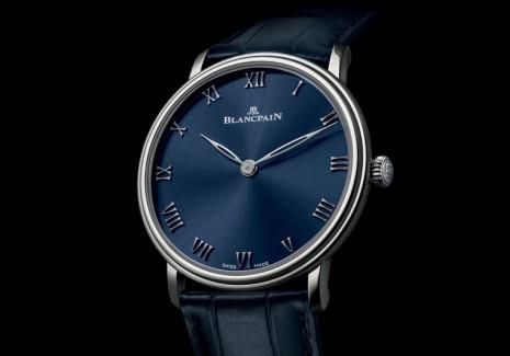 寶珀Villeret超薄錶新添一員藍面限量作品