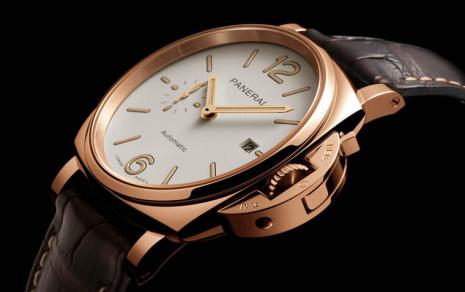 沛納海Luminor Due又有兩款Goldtech紅金錶殼新作上市