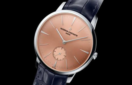 江詩丹頓打造中東限定版鉑金Patrimony手上鍊手錶