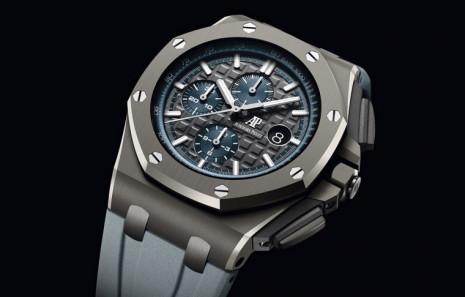 愛彼陶瓷殼的皇家橡樹離岸型計時錶有了黑色以外的新選擇