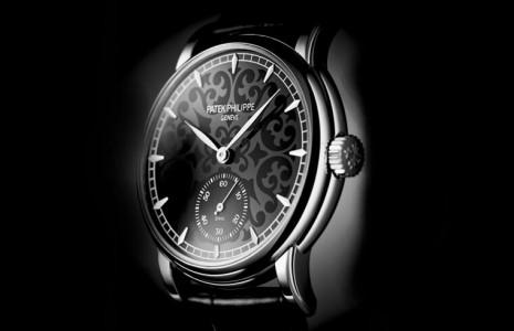 百達翡麗5078三問錶換上黑色琺瑯顏值再進化