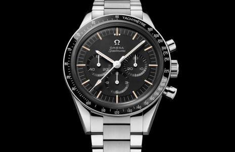 歐米茄搭載復刻321機芯的超霸登月錶又有新作 這次是不鏽鋼錶殼