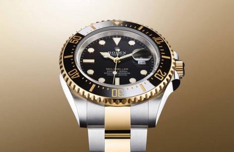 一登場定價就躍居海使家族之首的126603 以系列首見黃金鋼錶殼現身