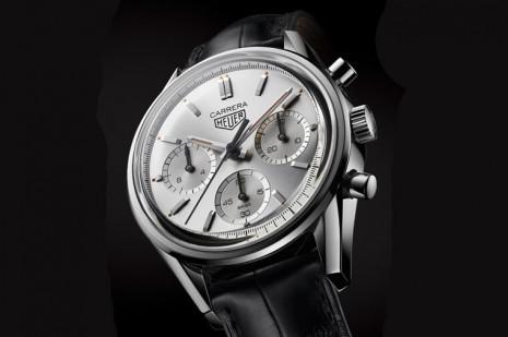 泰格豪雅為慶祝Carrera 160週年推出銀色限量版計時錶