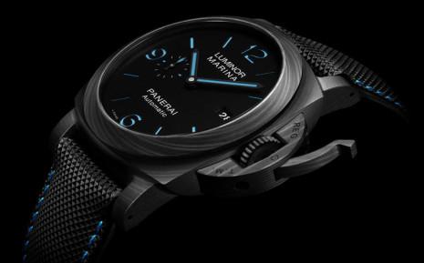 沛納海推出自動上鍊版Carbotech碳複合材質Luminor潛水錶