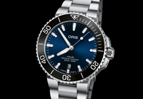 ORIS Aquis大三針潛水錶新作外觀變化不大 但錶徑有新選擇