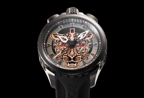 BOMBERG炸彈錶推出BOLT-68限量錶喚起我們對瀕臨絕種台灣雲豹的重視
