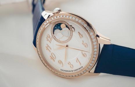 江詩丹頓Égérie伊靈系列月相錶在高級製錶工藝中展現柔美女性氣息
