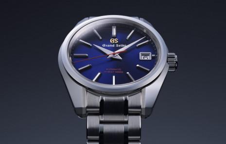 GRAND SEIKO推出四款「紺藍色」面盤手錶歡慶品牌60週年