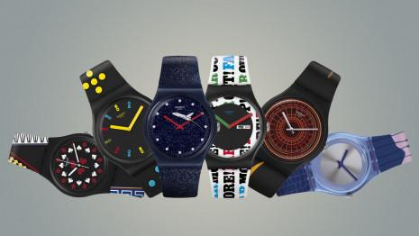 SWATCH推出六款以007電影為靈感的特別版手錶慶祝《生死交戰》即將上映