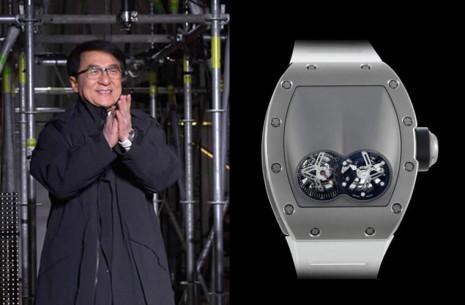 成龍巴黎時裝週戴了罕見兩千萬元RICHARD MILLE陀飛輪