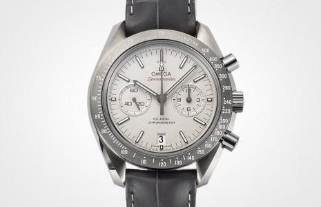 超霸登月錶是歐米茄經典之作 這款錶殼用灰陶瓷製作平常少見
