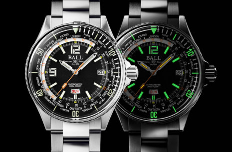 BALL WATCH重新設計推出規格更強的Engineer Master II Diver Worldtime