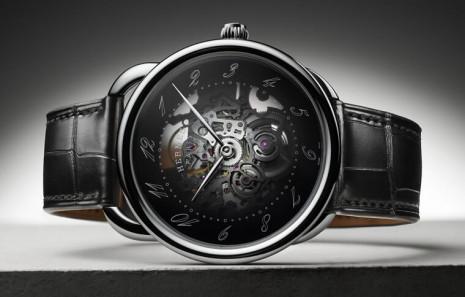 愛馬仕Arceau Squelette鏤空錶巧妙透視出複雜機芯結構