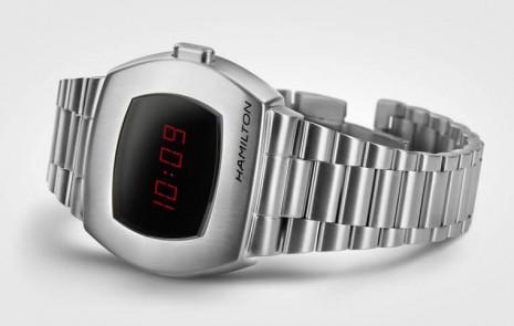 漢米爾頓為慶祝首款電子跳字錶的問世推出復刻新錶