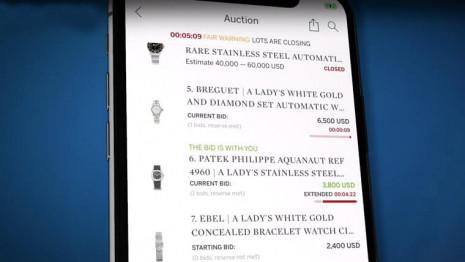新冠肺炎可能加速二手錶線上拍賣