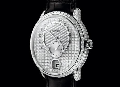 香奈兒Monsieur de CHANEL鑲嵌上114顆鑽石展現獨特設計以外的華麗工藝