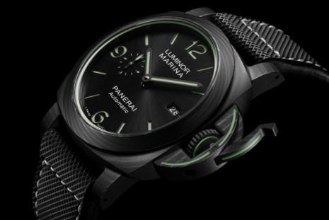 致敬夜光物料面世70週年 沛納海1118是一款Carbotech碳複合材質Luminor潛水錶