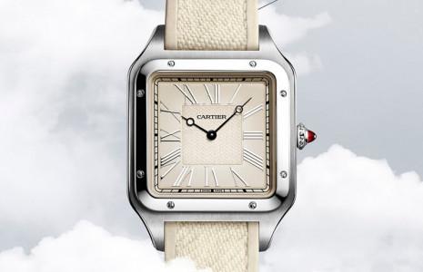 卡地亞推出全新Santos-Dumont限量錶訴說山度士-杜蒙的飛行故事