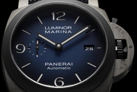 Fibratech加Carbotech材質 讓沛納海1663的Luminor錶殼又輕又堅固
