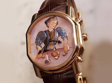 三問是手錶最複雜的功能 結合動偶更像是藝術品般價格高貴且值得收藏