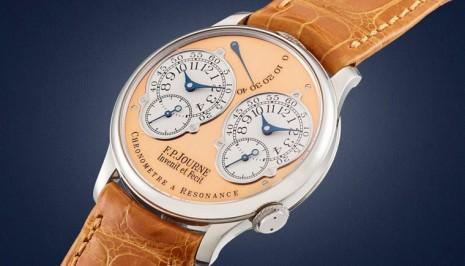 蘇富比線上拍賣F.P JOURNE、伯爵主題手錶 成交價格最高的是超過台幣800萬的恆定動力陀飛輪