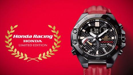 卡西歐EDIFICE慶祝20週年 與HONDA再度推出聯名紀念錶