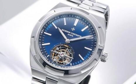 江詩丹頓Overseas不鏽鋼陀飛輪價格超過世界時間或萬年曆 儼然是系列旗艦錶
