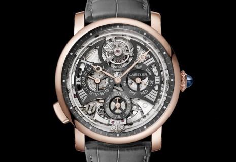 卡地亞時隔五年在推出全新Rotonde de Cartier大型複雜功能腕錶